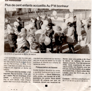 ARTICLE OUEST FRANCE site