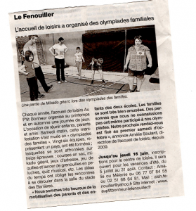 Article Olympiades site