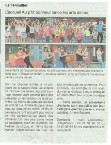 SPECTACLE ALSH OUEST FRANCE